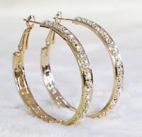 Stunning Gold Filled CZ Earrings NWOT's Gainesville, 20155