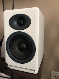 Audioengine P4 studio speakers with Audioengine D1 28 km