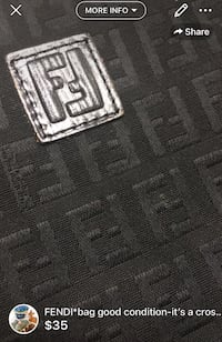 FENDI*bag good condition-it's a cross bag super lightweight and very comfortable London, N5W 6E2