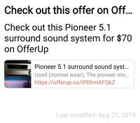 Pioneer 5.1 Stereo with Subwoofer