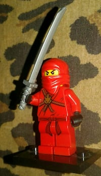 Original/Real Lego KAI NINJAGO red  Minifigure