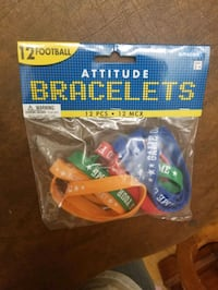 (2) Brand New Packs of Rubber Bracelets