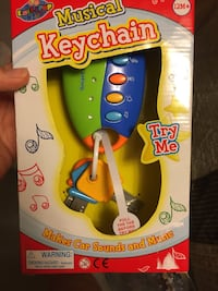 Musical keychain toy - never used and never opened  Fairfax, 22032