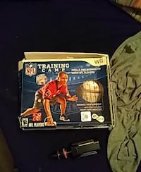 Wii NFL Training camp (NEW)