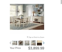 Brand New in Box Aria 8 piece Dining set (Costco online) Montréal, H4M 2T4