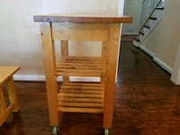 Very solid microwave stand with wheels Gaithersburg, 20878