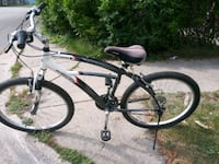 black and white hardtail mountain bike Kalamazoo, 49001