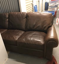 Distressed premium quality leather couch for sale Las Vegas, 89122