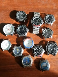 Lot of 13 mens /lady's Watches all working condition  Mississauga, L5L 2M8