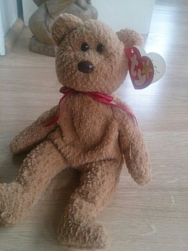 Used brown bear ty beanie baby for sale in New Jersey - letgo 570a5cca3bf