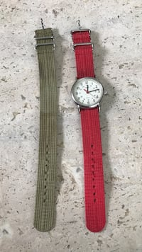 Timex watch with extra band