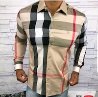 white, black, and brown plaid dress shirt Pleasant Hill, 94523