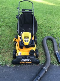 yellow and black Poulan Pro push mower Davie, 33331