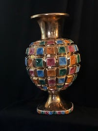 clear glass and gold-colored table lamp Hialeah, 33016