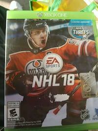 NHL 17 Xbox One game case Cambridge, N3H 1A4
