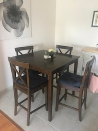 Table and 4 chairs  Vancouver, V6M 2G2