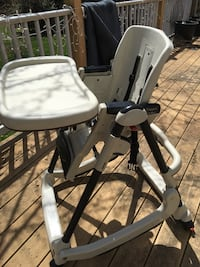 Prima Pappa Rocker by Peg Perego Highchair made in Italy Reduced, used. [TL_HIDDEN]   Mount Airy, 21771