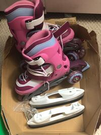 Girls Disney Princess rollerblades/ice skates Toronto, M1P 4S5