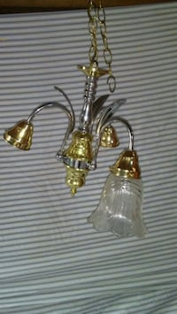 New gold & silver chandelier Mississauga, L4W 3M9