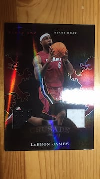 RARE LEBRON JAMES BASKETBALL CARD