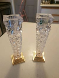 Austrian crystal candle holders  Whitby, L1N 8X2