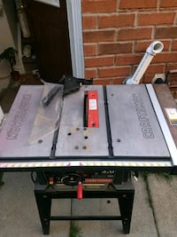 Table saw in working condition Brampton, L7A 2Y3