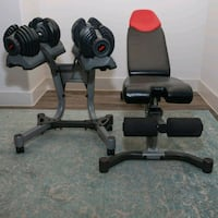 black and gray exercise equipment Dallas, 75212