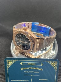 AP royal Oak C.L.•0N.3 rose gold automatic watch Audemars Piguet Toronto, M6K 1B9