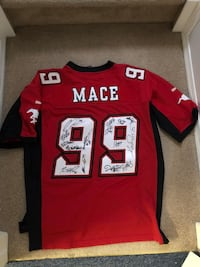 red and white Reebok NFL jersey Calgary, T2J