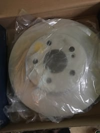 Mercedes Benz coupe rear breaks and rotors kit