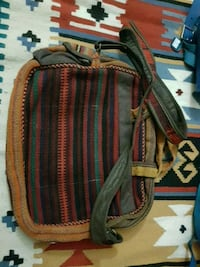 brown and red leather crossbody bag Oakville, L6L 1H2