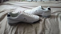 pair of white Nike low-top sneakers Edmonton, T5A 1E7