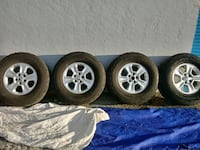 Set of 285/70/17 on 127mm x 5 rims Fort Myers