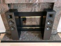 black and gray home theater system Coquitlam