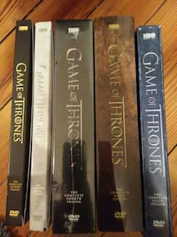 five Game Of Thrones movie series
