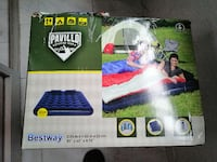 Colchon hinflable Bestway 2,03m x1,52 m x 22 cm ideal para camping o p Madrid, 28030