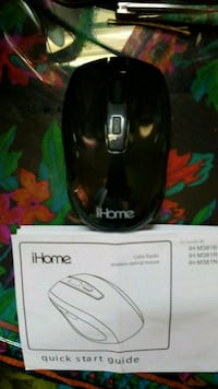 black iHome corded computer mouse