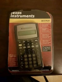 black Texas Instruments TI-84 Plus calculator pack Toronto, M5A 2H4