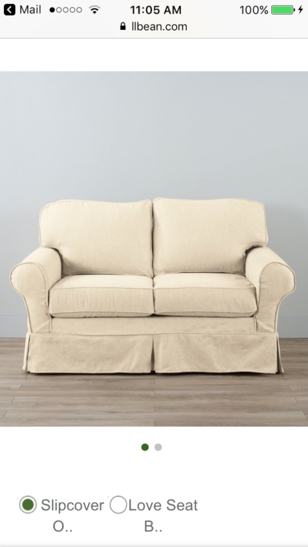 Miraculous 2 Ll Bean Loveseat Slipcovers Used 6 Months Gently Broken In Retail 179 Each Will Sacrifice For 40 Each I No Longer Have A Use For Them They Machost Co Dining Chair Design Ideas Machostcouk