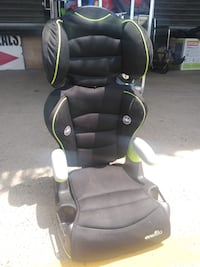 Two-piece Evenflo booster seat