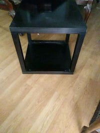 square black wooden side table Oxnard, 93030