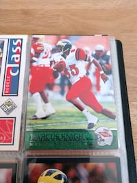 Marcus Knight Wide Receiver Rookie Card  Charleston, 29414