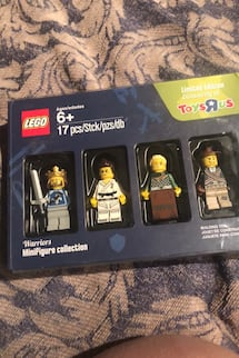 LEGO warriors mini figures collection $20 firm