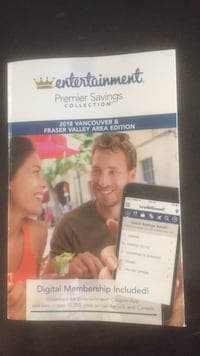 Entertainment book maybe 10 coupons clipped!! Surrey, V3S 8T2