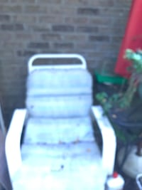 Two padded patio chairs with plastic coated arms / legs Concord, 28027