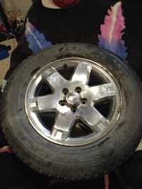 Jeep - Liberty new tire and rim Lethbridge, T1H 0W3