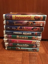 Disney VHS Lot Good condition