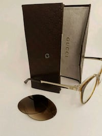 Gucci frames with specs and shades  503 km