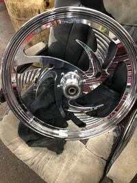 Front riptide motorcycle wheel 21x2.15