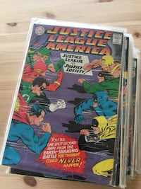 The justice league of America comics #56-98. Antiques. Collectibles. Fort Belvoir, 22060